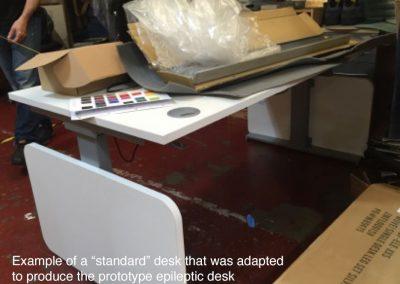 Epileptic Desk