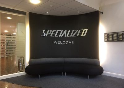 Specialized Welcome Area