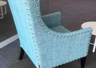 Studded Lounge Chairs